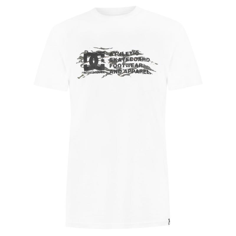 Tričko DC Transition T Shirt White WBBO