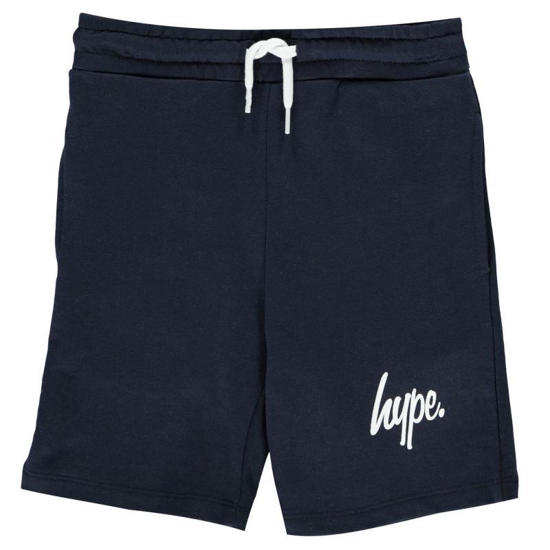 Kraťasy Hype Script Shorts Navy/White
