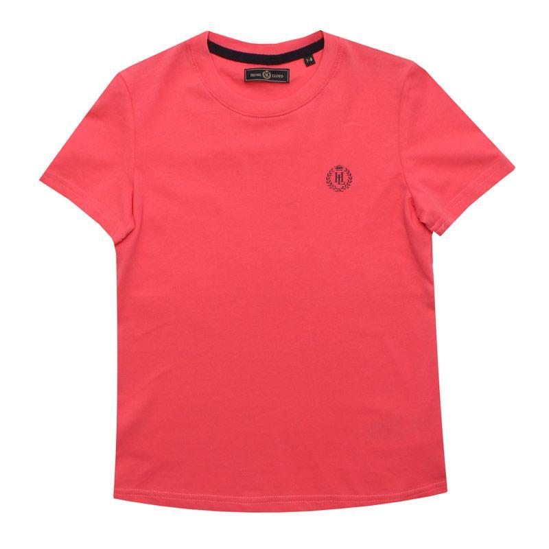 Tričko Henri Lloyd Junior Boys Radar T-Shirt Coral