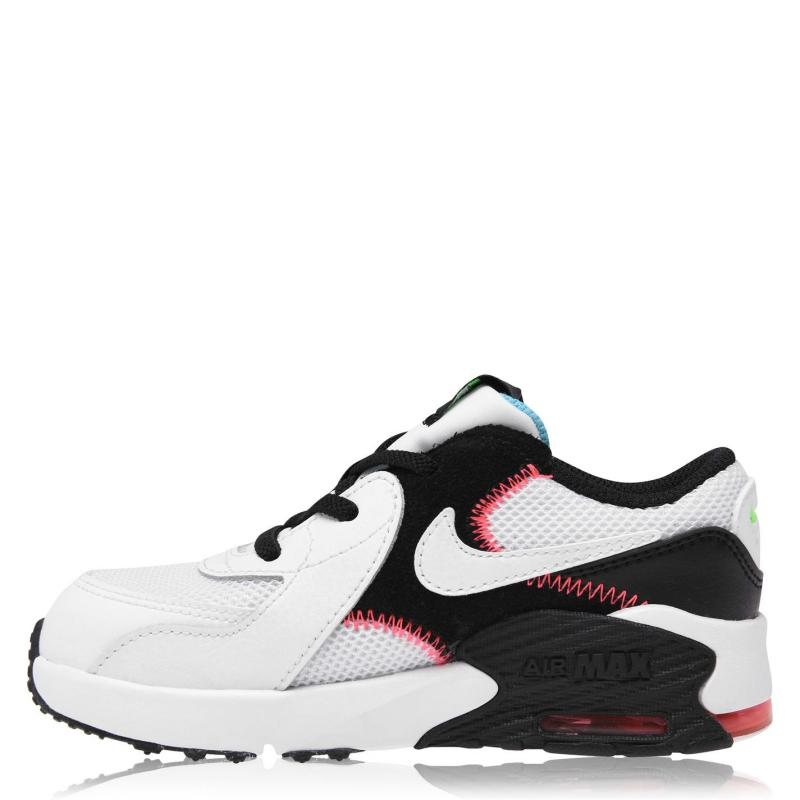 Boty Nike Air Max Excee Trainers Infant Boys WHITE/WHITE-BLACK-FLASH CRIMSO