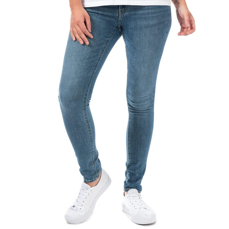 Levis Womens 711 Skinny Lapis Indigo Rays Jeans Denim