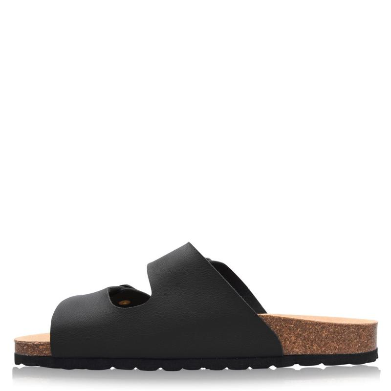 Full Circle Gatow Sandals Black