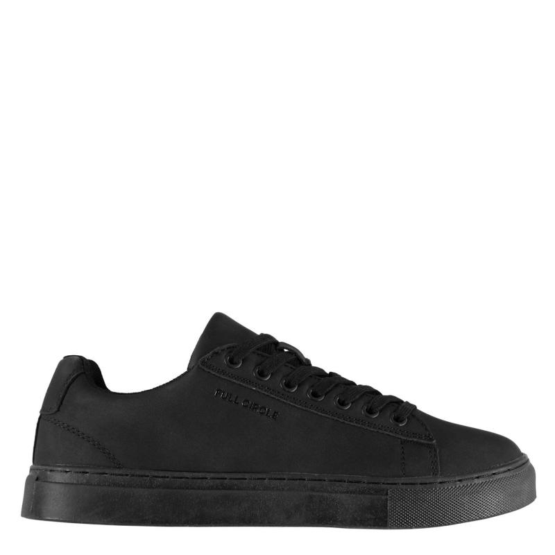 Full Circle Trept Low Trainers Ladies Black/Black