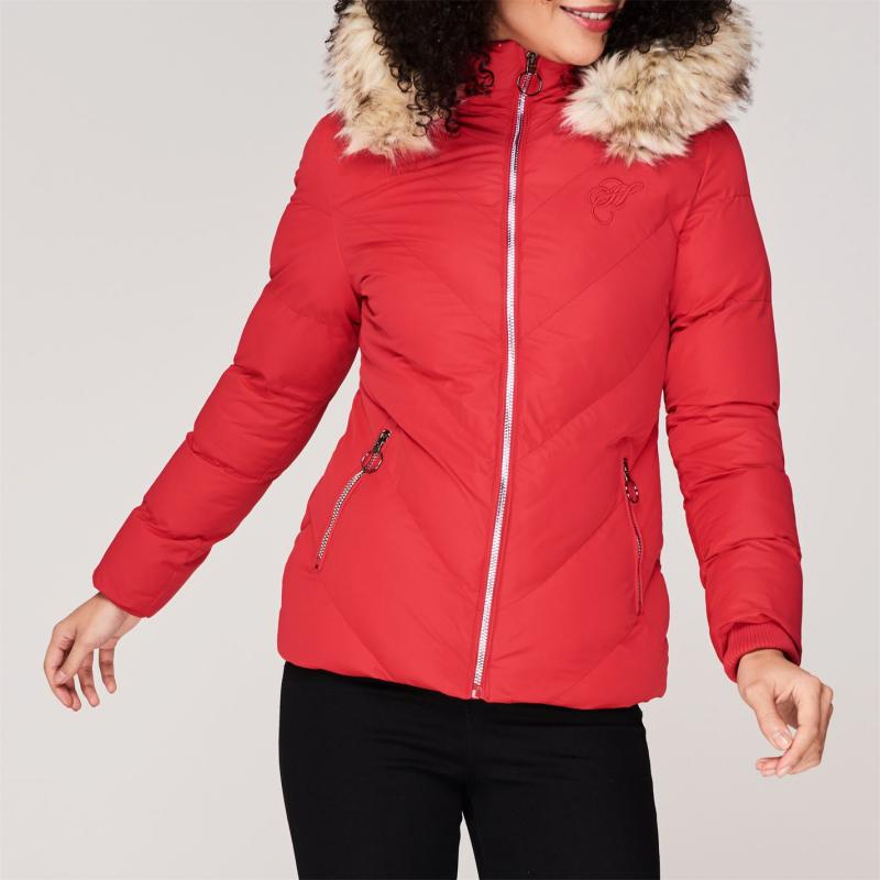Hardcore Astoria Jacket Red