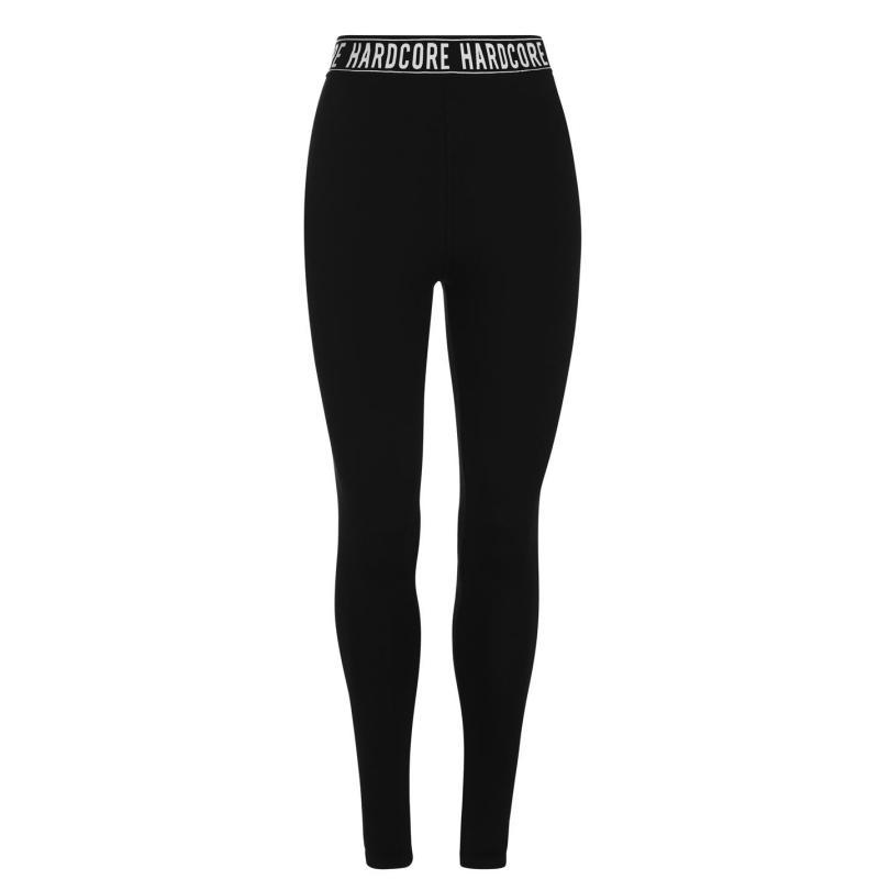 Legíny Hardcore Monroe Leggings Black