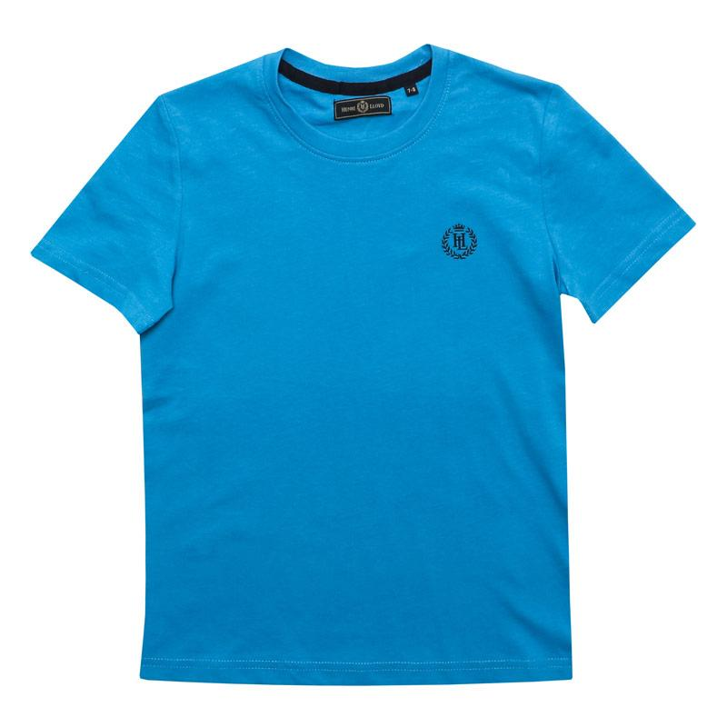 Tričko Henri Lloyd Junior Boys Radar T-Shirt Blue