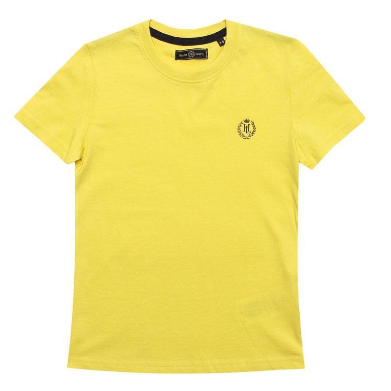 Tričko Henri Lloyd Junior Boys Radar T-Shirt Yellow