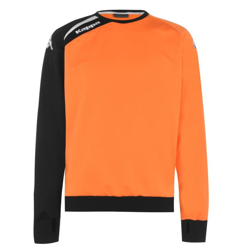 Kappa Mare Sweater Orange/Black
