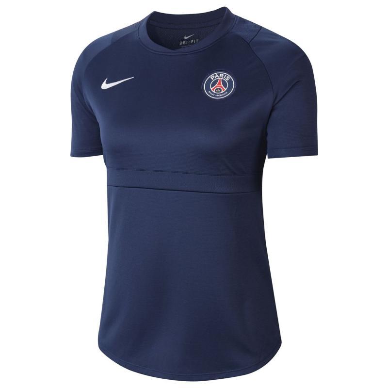 Nike Paris Saint Germain Academy Pro Top 2020 2021 Ladies Navy