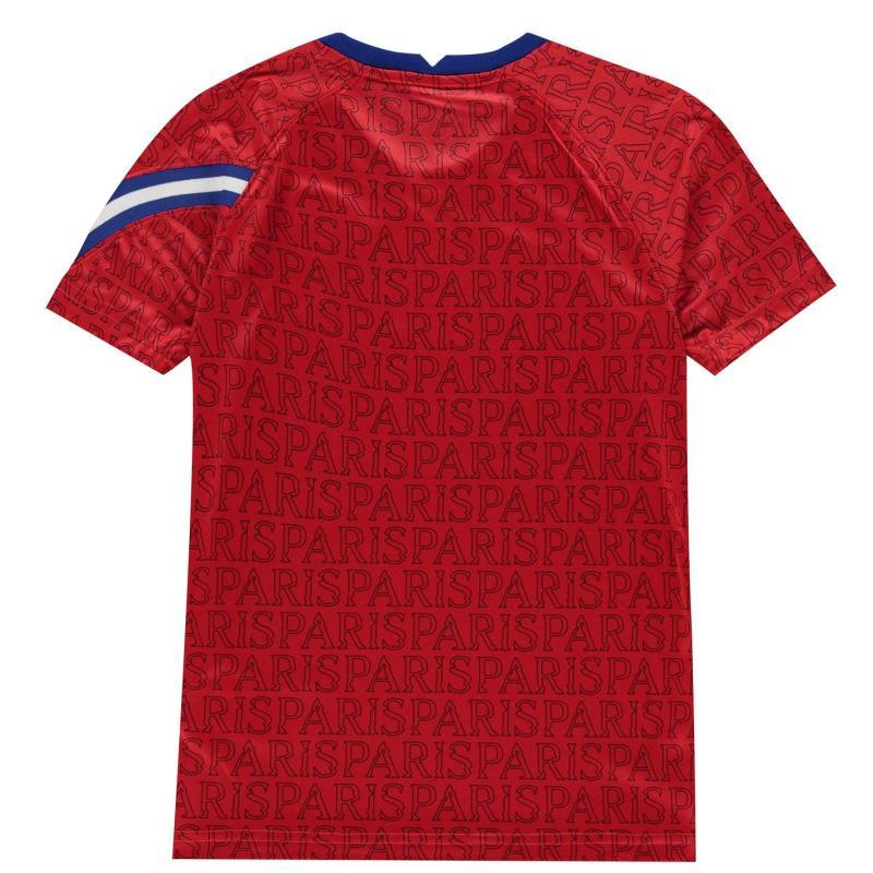 Nike Paris Saint Germain Pre Match Shirt 2020 2021 UNIVERSITY RED/UNIVERSITY RED/