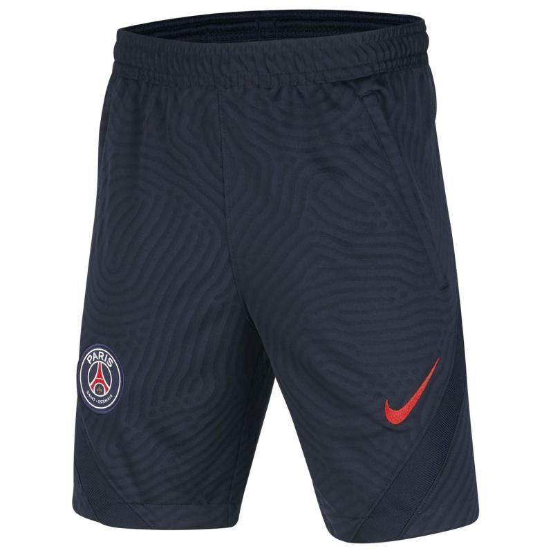 Nike Paris Saint Germain Strike Shorts 2020 2021 Junior Navy