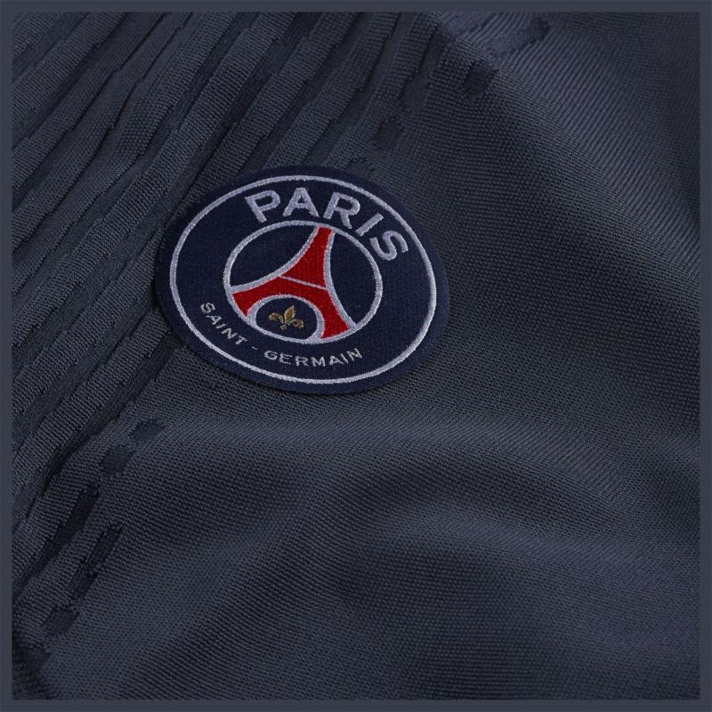Nike Paris Saint Germain VaporKnit Strike Track Pants 2020 2021 DARK OBSIDIAN/UNIVERSITY RED
