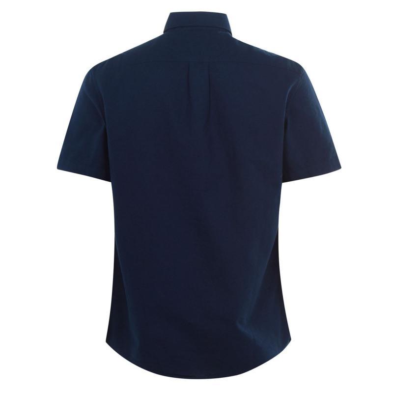 Original Penguin Short Sleeve Oxford Shirt 413 Dk Sapphire