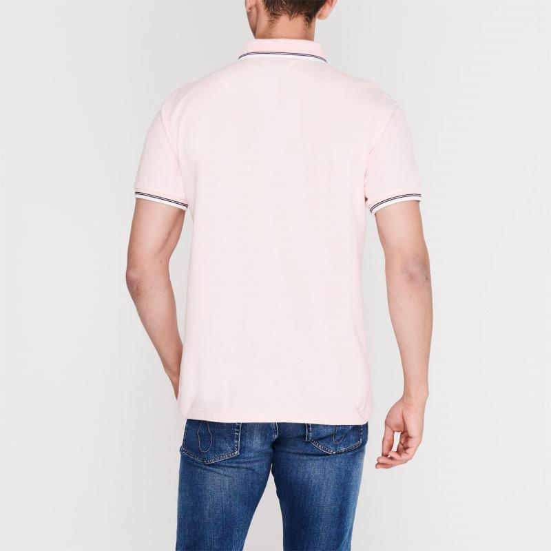 Original Penguin Tipped Polo Shirt 682 Impat Pink