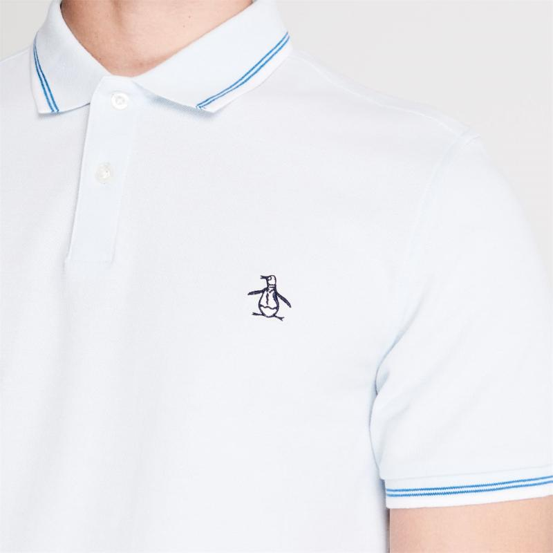 Original Penguin Tipped Polo Shirt 402 Ballad Blue
