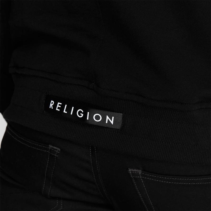 Mikina Religion Construction Hoodie Black