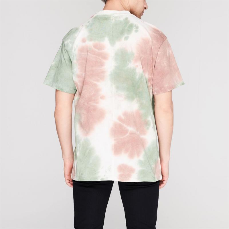 Tričko Religion Toxic T-Shirt Camo Tie Dye