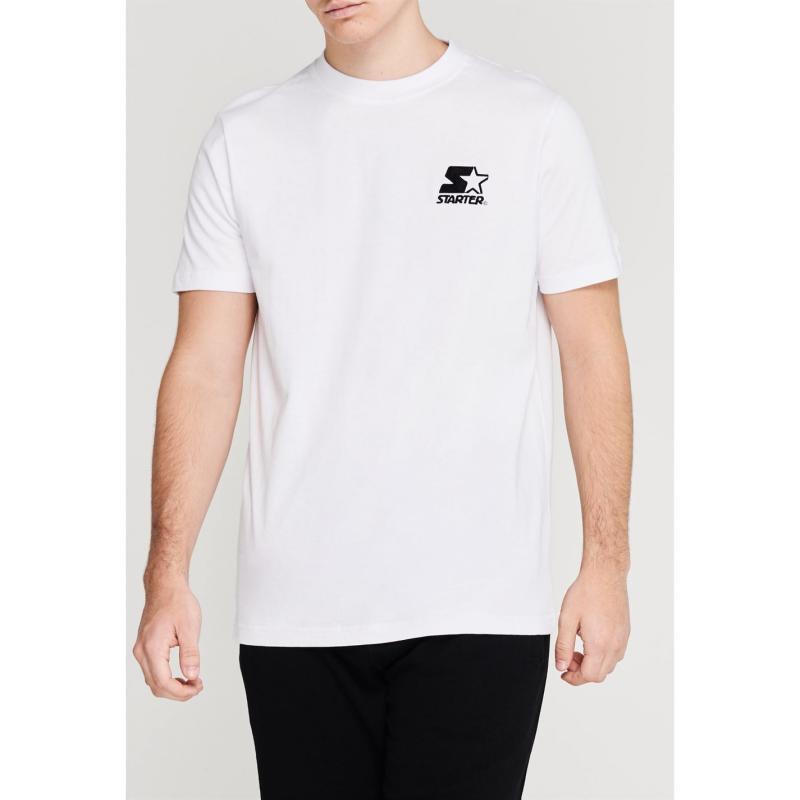 Tričko Starter Palmer T Shirt Optic White