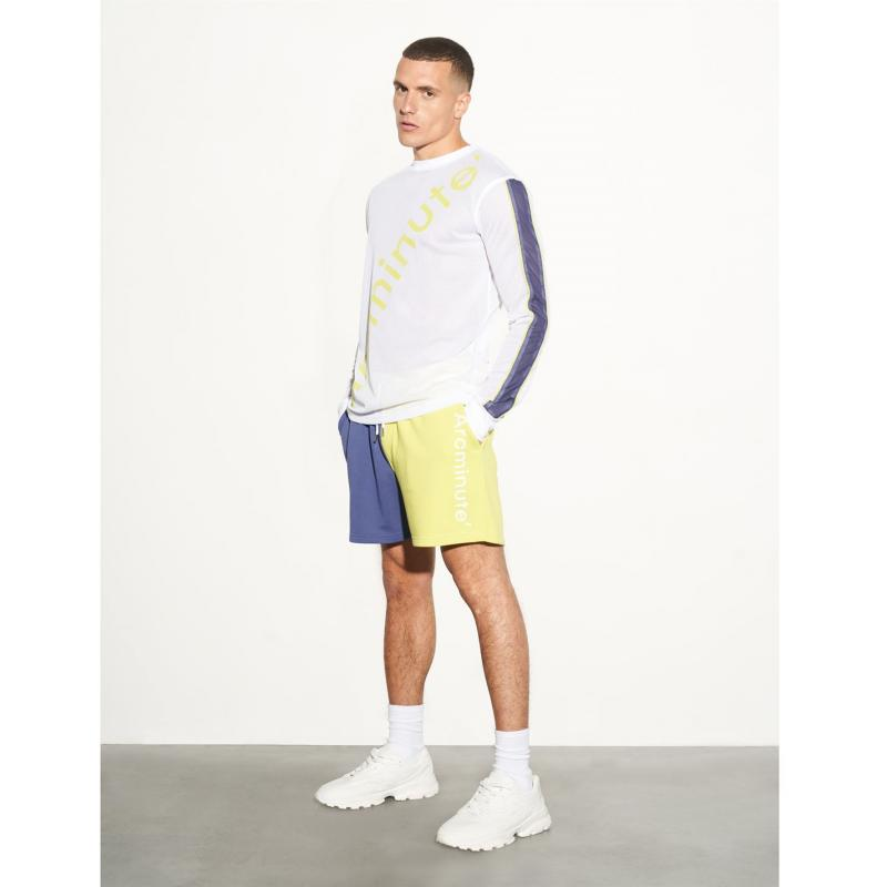 Tričko Arcminute Russell Mesh Jersey White