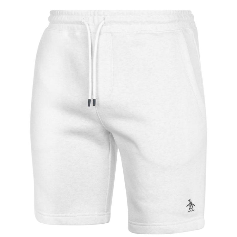 Original Penguin Fleece Shorts 059 Light Grey