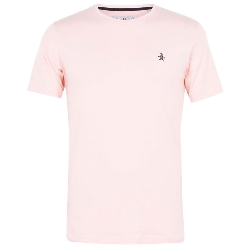 Tričko Original Penguin Short Sleeve Crew Neck T Shirt 682 Impat Pink
