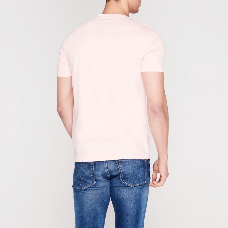 Tričko Original Penguin Short Sleeve Crew Neck T Shirt 682 Impat Pink
