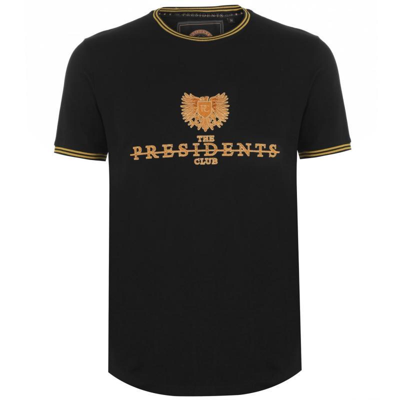 Tričko Presidents Club Lords T Shirt Black