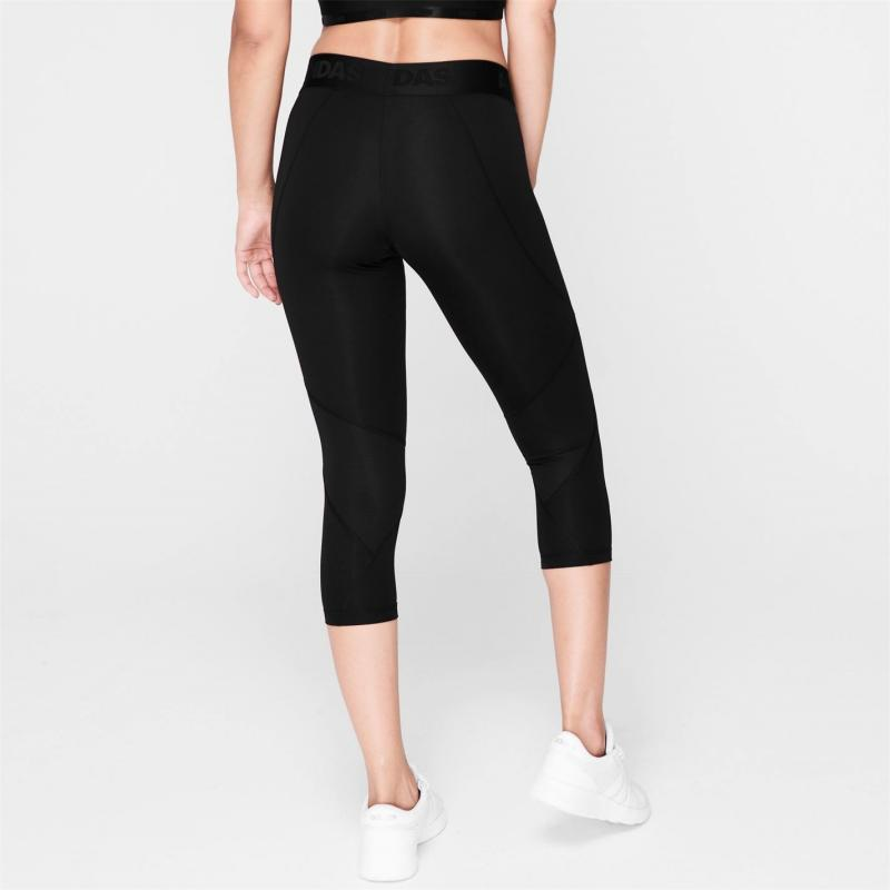 Adidas Alphaskin three quarter Pants Ladies Black