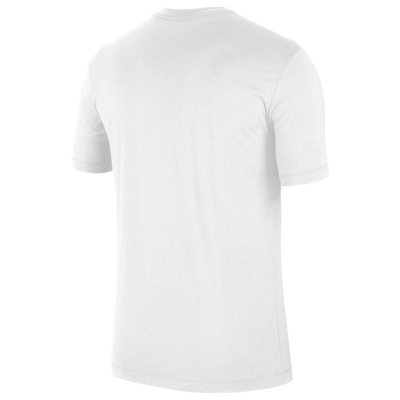Tričko Air Jordan Big Logo T Shirt Mens WHITE/GYM RED