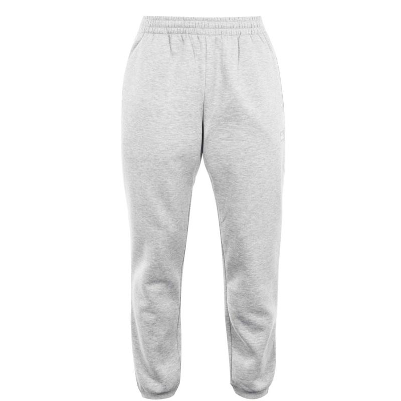 Tepláky Lonsdale Essential Joggers Mens Grey Marl