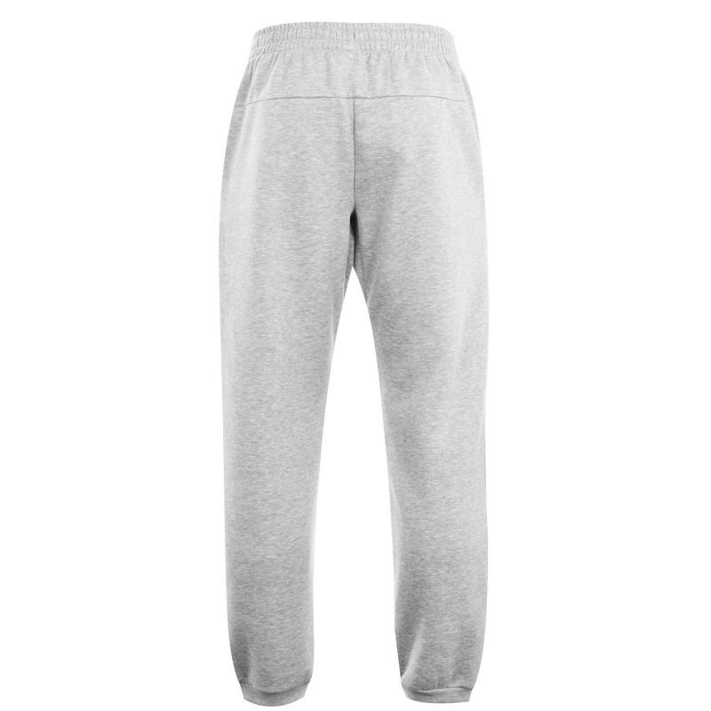 Tepláky Lonsdale Essential Joggers Mens Grey Marl