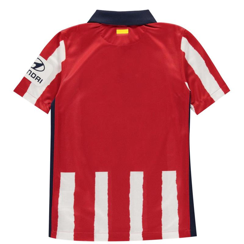 Nike Atletico Madrid Home Shirt 2020 2021 Junior SPORT RED/MIDNIGHT NAVY