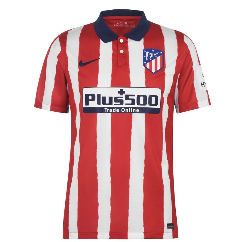 Nike Atletico Madrid Home Shirt 2020 2021 SPORT RED/MIDNIGHT NAVY