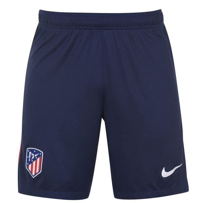Nike Atletico Madrid Home Shorts 2020 2021 MIDNIGHT NAVY/WHITE
