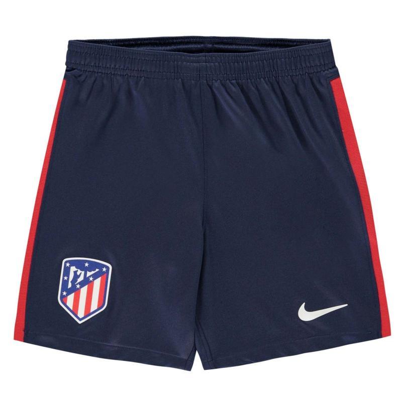 Nike Atletico Madrid Home Shorts 2020 2021 Junior MIDNIGHT NAVY/WHITE