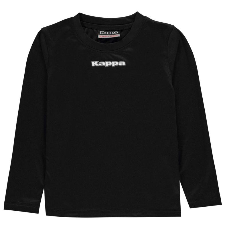 Mikina Kappa Carar Crew Sweatshirt Junior Boys Black