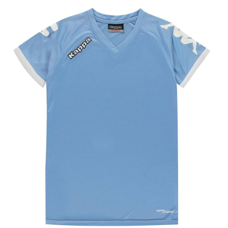 Tričko Kappa Cascia T-Shirt Mens Light Blue