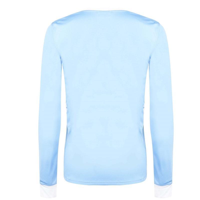 Tričko Kappa Remilio Long Sleeve T Shirt Light Blue / Wh