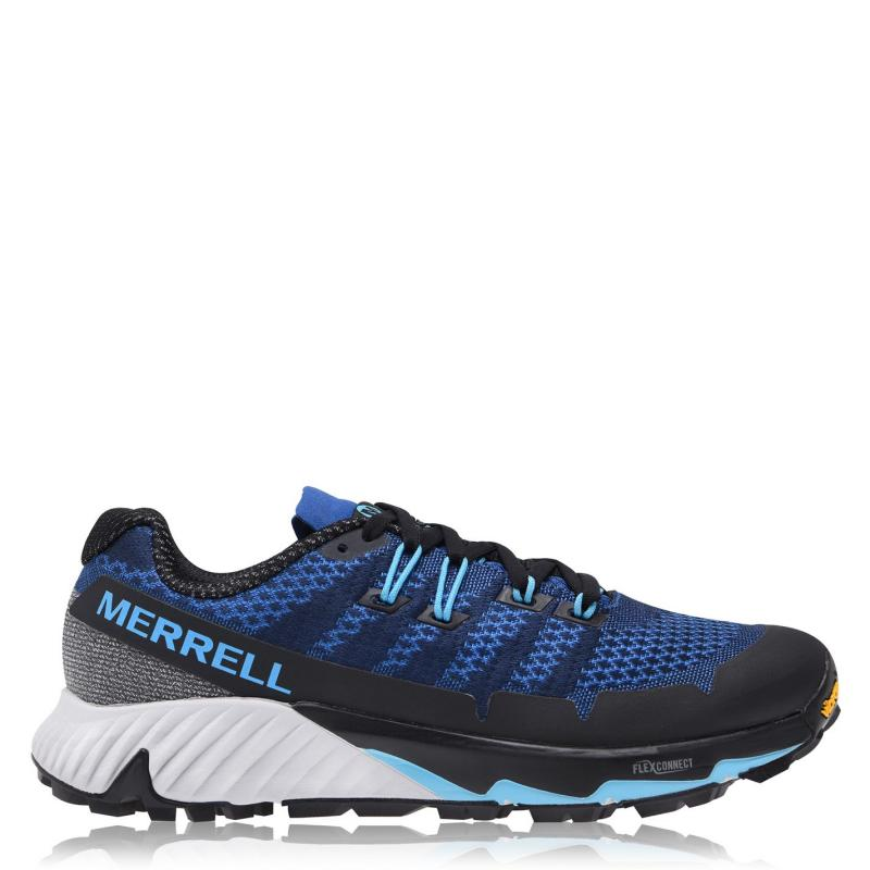 Boty Merrell Agility Peak Flex 3 Mens Walking Shoes Cobalt