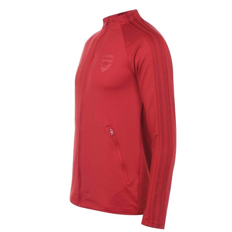 Adidas Arsenal Anthem Jacket 2020 2021 Mens Maroon