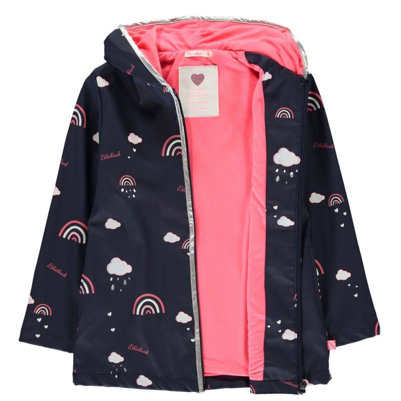 Billieblush Billieblush Rain Jacket Blue 85T
