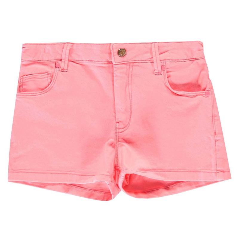 Billieblush Denim Short Fuschia 499