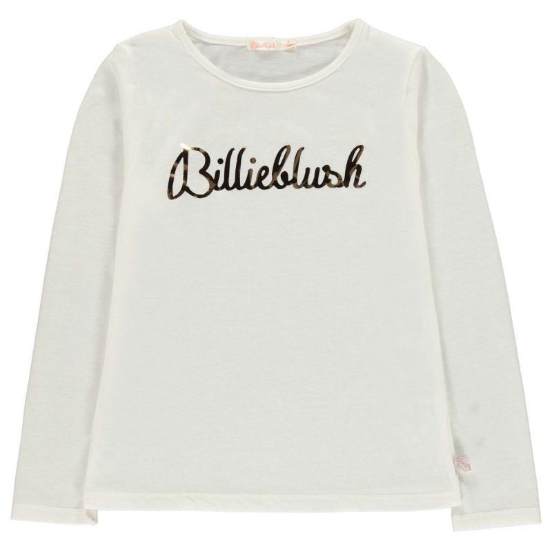 Billieblush Logo Sweatshirt IVORY 121