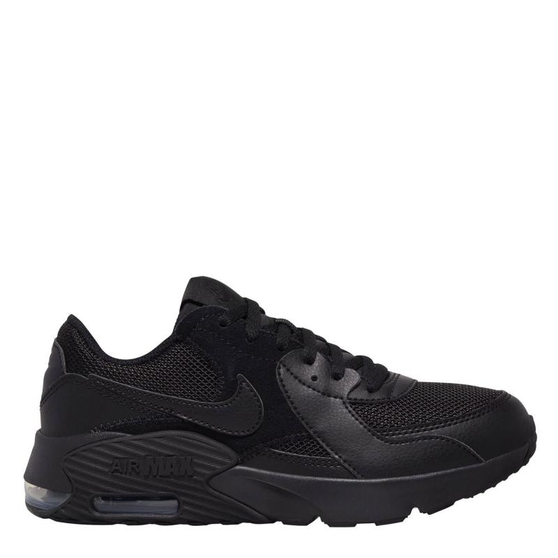 Boty Nike Air Max Excee Junior Trainers BLACK/BLACK-BLACK