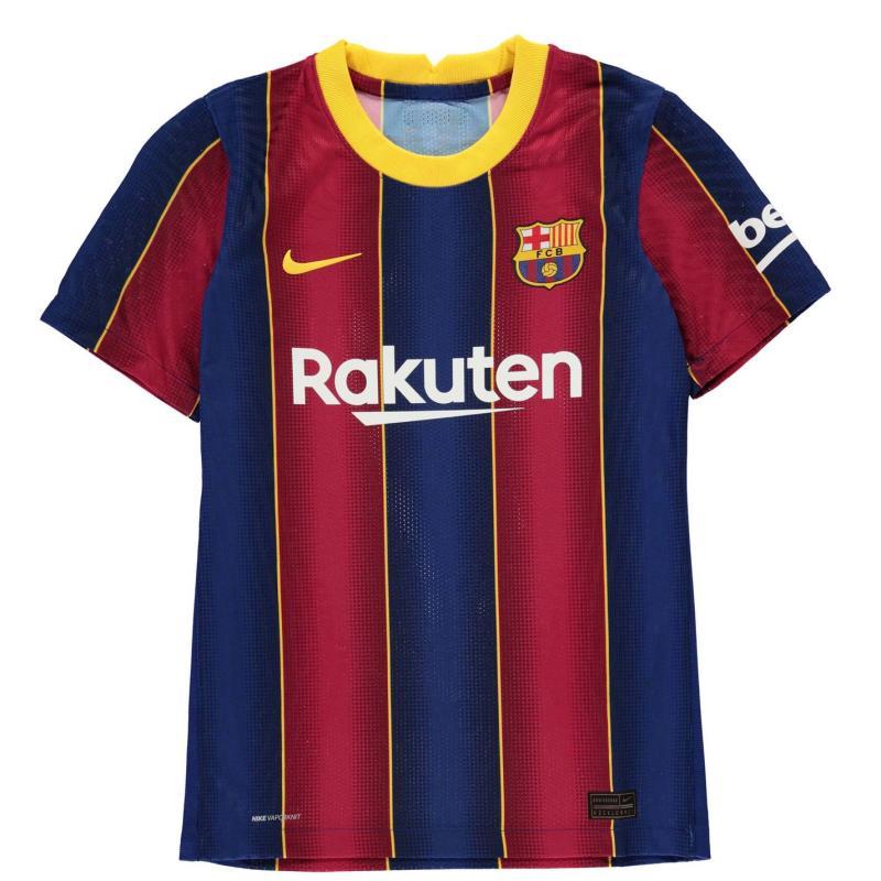 Nike Barcelona Home Vapor Shirt 2020 2021 Junior DEEP ROYAL BLUE/VARSITY MAIZE