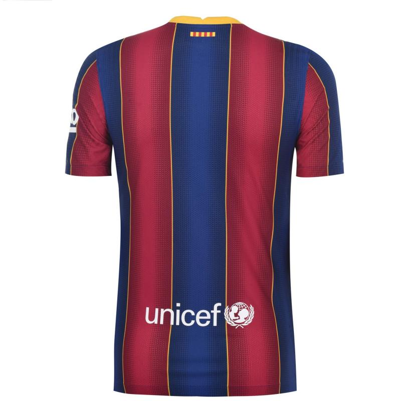 Nike Barcelona Home Vapor Shirt 2020 2021 DEEP ROYAL BLUE/VARSITY MAIZE
