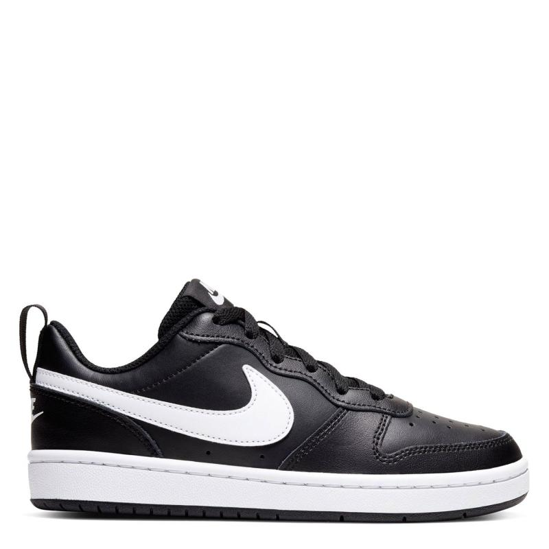 Boty Nike BOROUGH LOW 2 SE (GS) Black/White