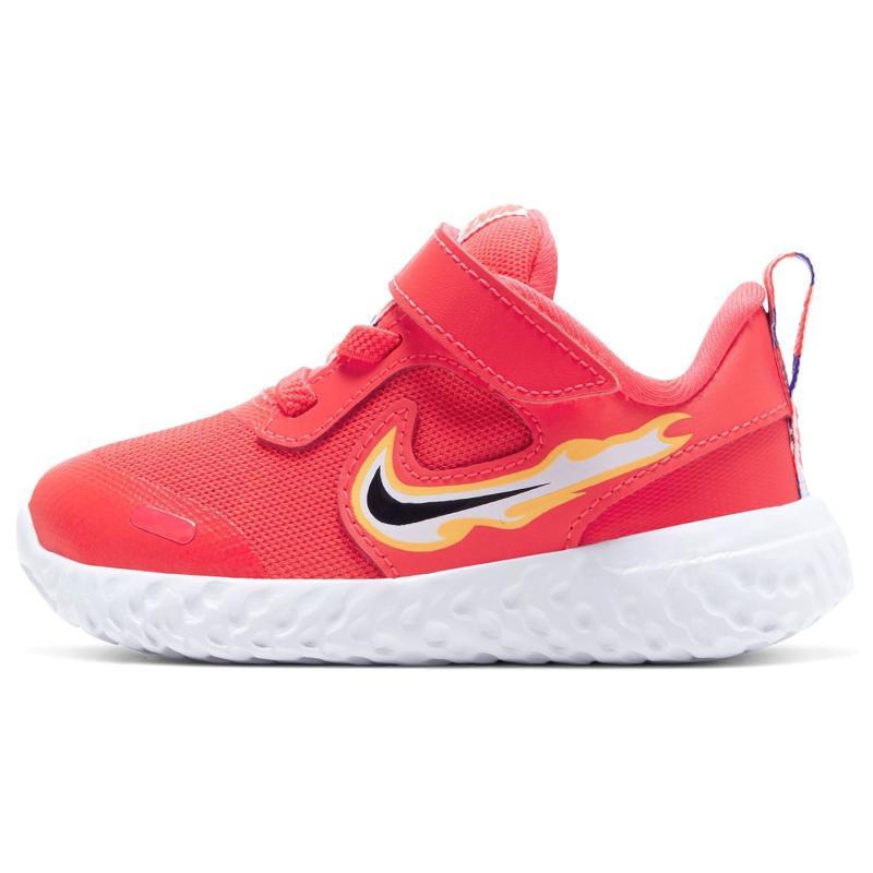 Boty Nike Revolution 5 Baby/Toddler Shoe Crimson/Fire