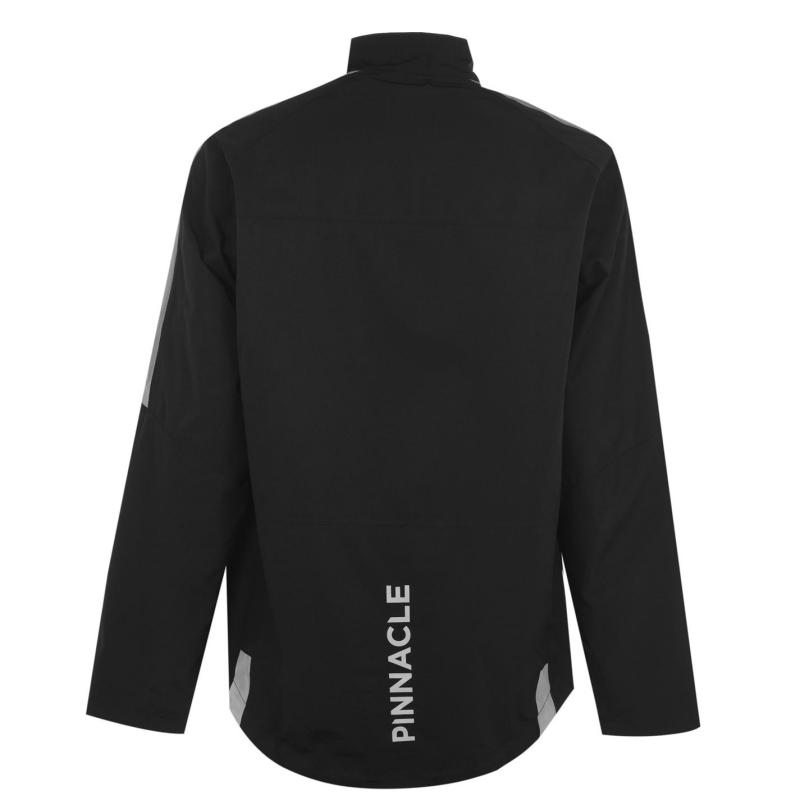 Pinnacle Compeition Cycling Jacket Mens Black