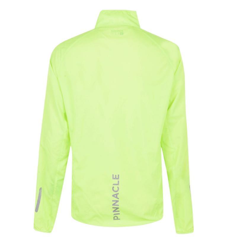 Pinnacle Wind Cycling Jacket Mens Yellow